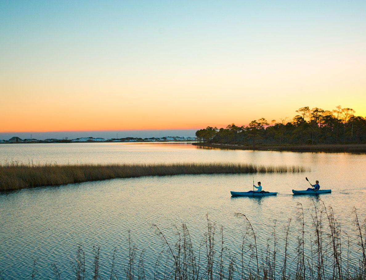 south walton and destin kayaking
